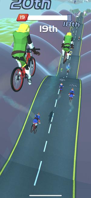 自行车山丘截图