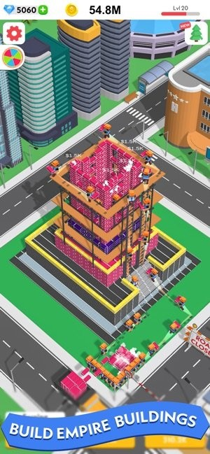 闲置建筑3D截图