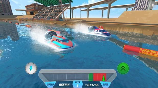 速度船競速仿真器3D截圖