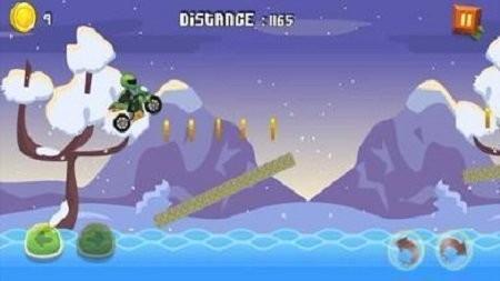 摩托车山地赛车截图