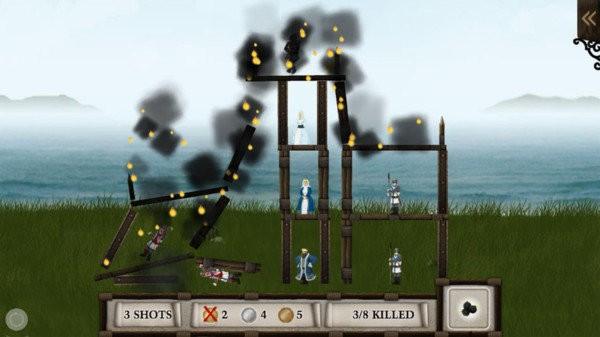 投石车粉碎城堡截图