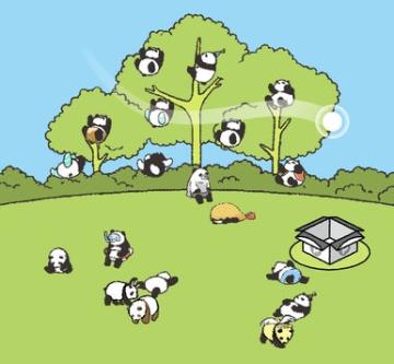 熊貓城飼養員截圖