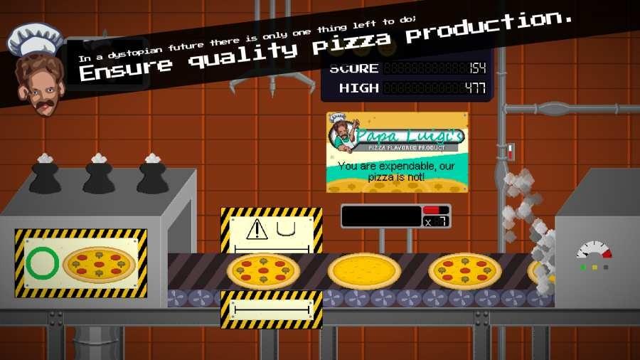 路易吉老爹的披萨饼制造厂截图