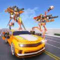 鸵鸟机器人汽车变形战争