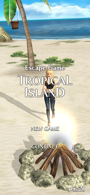逃离游戏热带岛屿截图
