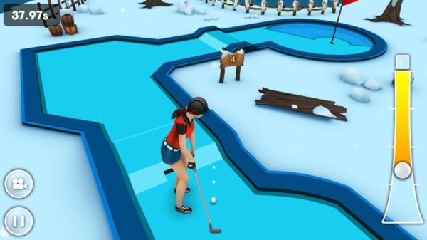 全民高爾夫3D截圖