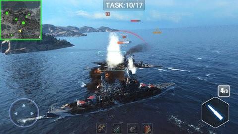 巅峰海战之超级战舰截图