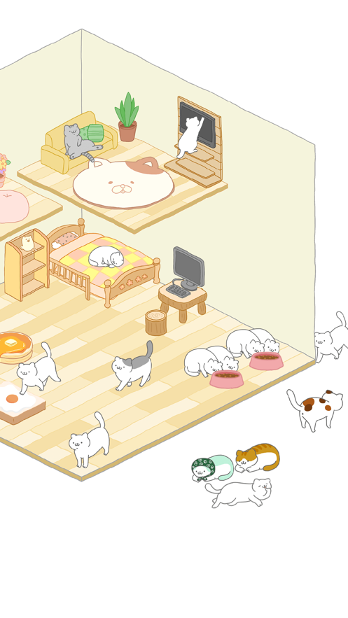 貓咪怎么這么懶截圖