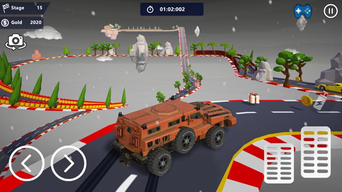 汽车特技天空公园3D截图