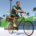 死亡独轮车送儿子上学