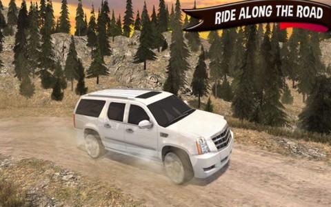奔驰车3D驾驶截图