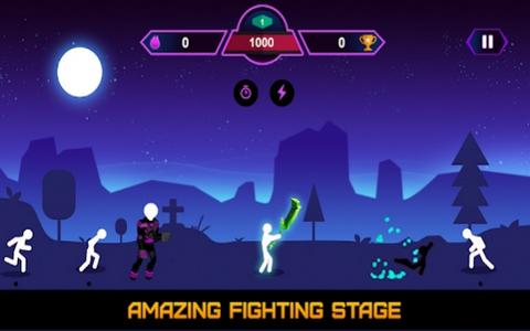 火柴人银河战斗游戏截图