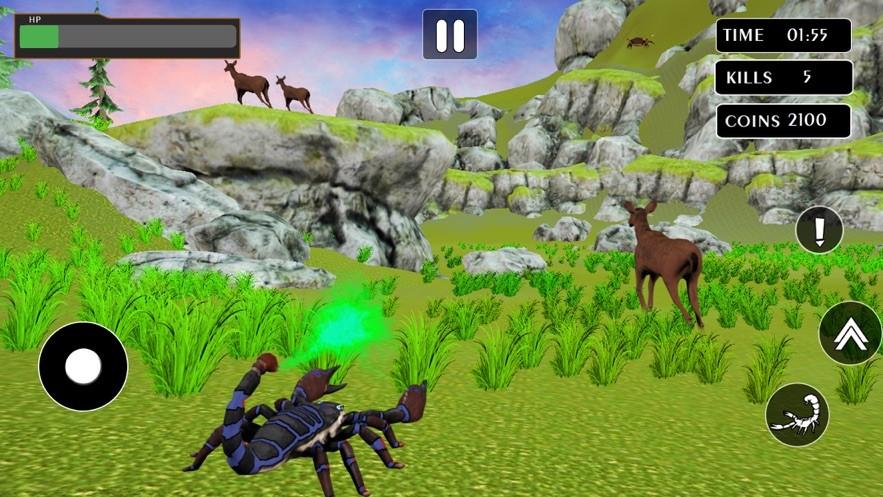 巨毒蝎毒刺截图