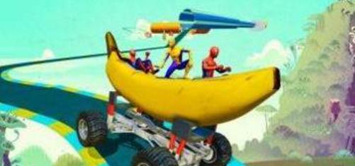 香蕉船賽車跑酷截圖