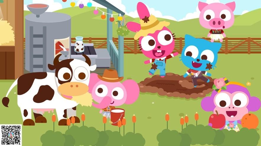 泡泡兔小鎮開心農場物語截圖