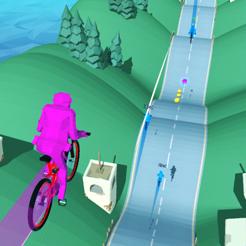 自行车山丘游戏