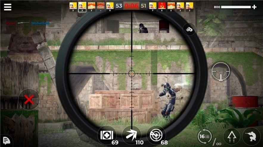 AWP模式史诗3D狙击截图