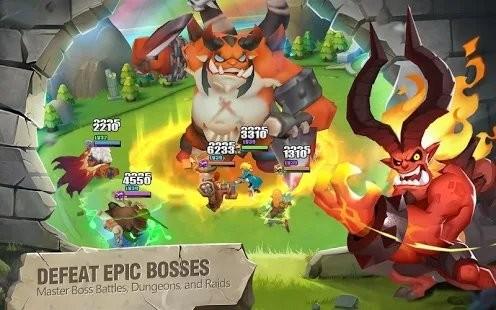 Heroes Bash截图