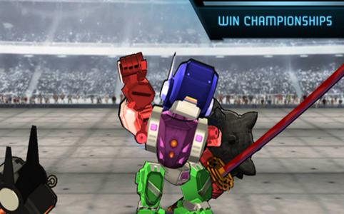 超级机器人战斗竞技场截图