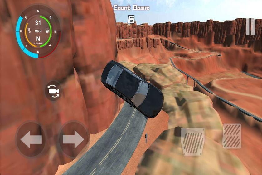 疯狂驾车模拟器截图