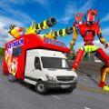 冰淇淋机器人面包车改造