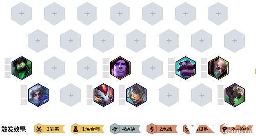 云顶之弈10.3剧毒艾希阵容介绍 剧毒艾希玩法一览