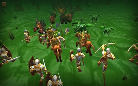 战斗模拟器骑士与龙