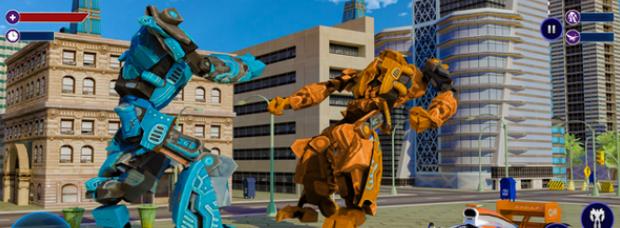 飞行式机器人战争截图