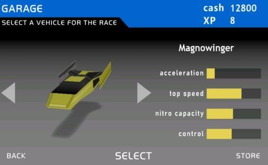 磁性赛车截图