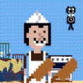 厨房躲猫猫