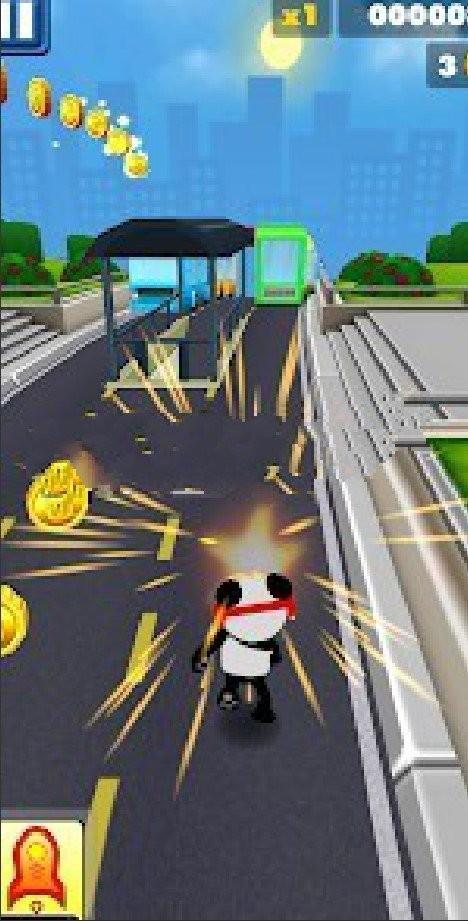 熊猫跑步终结者截图