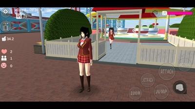 樱花校园模拟器农场版截图