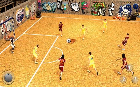 街头足球五人制足球截图