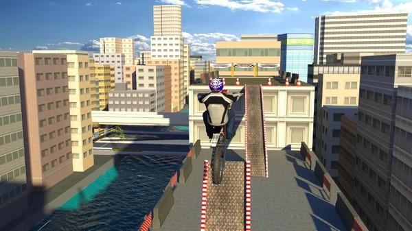 屋顶自行车模拟截图