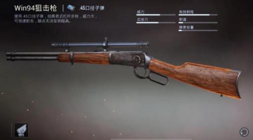 和平精英Win94狙击枪使用技巧分享 和平精英Win94怎么使用