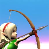 3D弓箭手僵尸射击