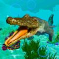 水下鱷魚模擬器