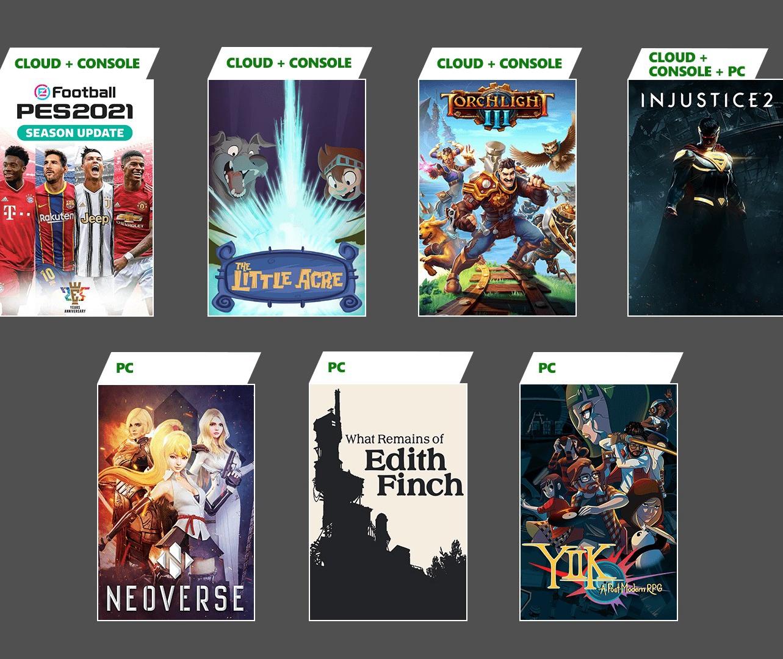 XGP1月新增游戲陣容公布 含《PES2021》《火炬之光3》等